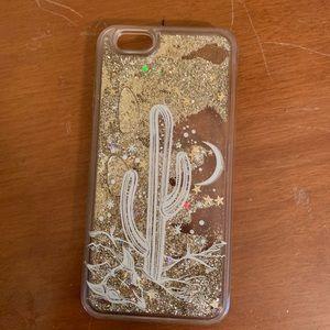 Accessories - iPhone 6s Glitter Cactus Case